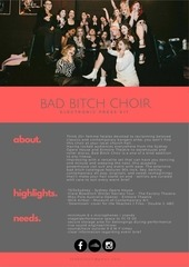 PDF Document bad bitch choir 2