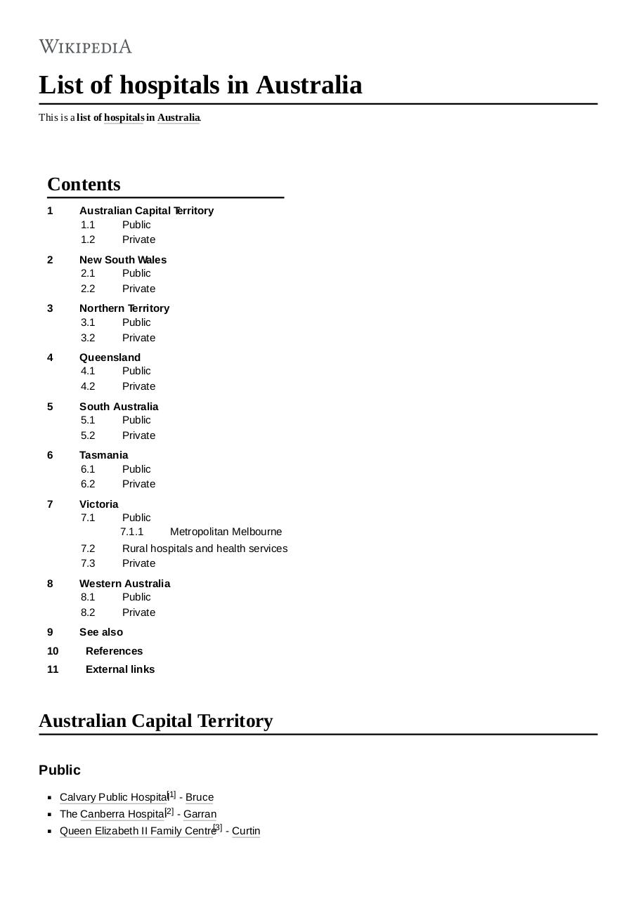 List_of_hospitals_in_Australia.pdf - page 1/41