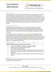PDF Document probusfx linux admin v3