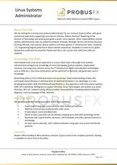 probusfx linux admin v3