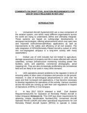 comments of dgca car pdf