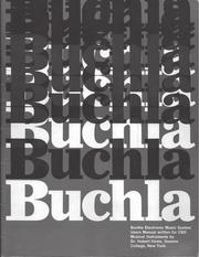 PDF Document buchla 100 user manual 2017