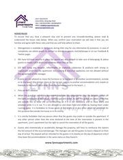 lynn s apartments house rules