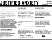 justified anxiety computer layout