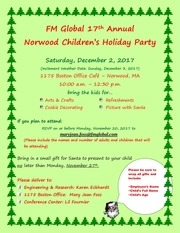 childrens holiday party invitation 2017