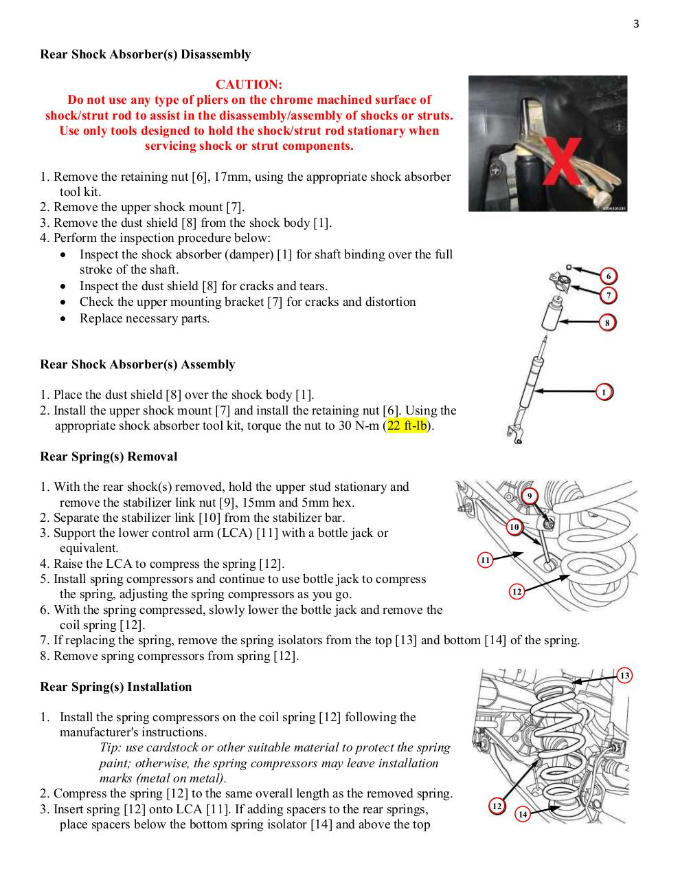 2015 Jeep Cherokee KL Trailhawk Lift Instructions, Vol 4.pdf - page 3/13