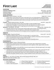 PDF Document reddit resume