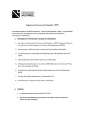 PDF Document regulamento concurso de fotografia