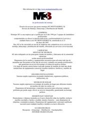 dossier montajes m3 montadores 1
