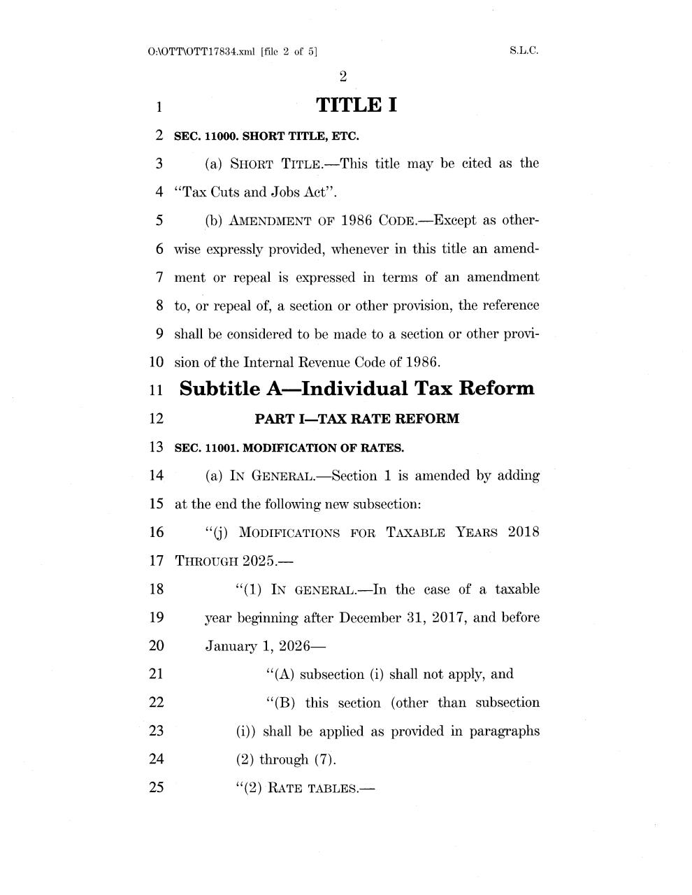 Supposed GOP Tax Bill - Friday night at 614pm.pdf - page 2/479