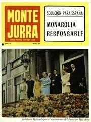 montejurra num 27 junio 1967