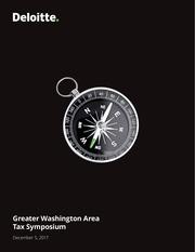 2018 greater washington program
