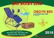 obgyn bed 2018 produk dak bkkbn 2018