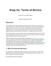 PDF Document terms conditions