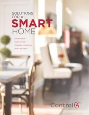 control4 smarthome brochure