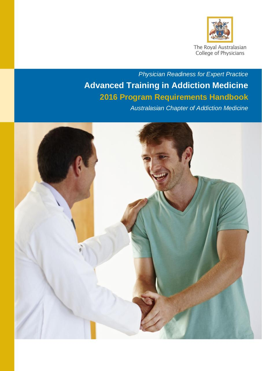 Advanced Training in Addiction Medicine 2016 (Australasian).pdf - page 1/45