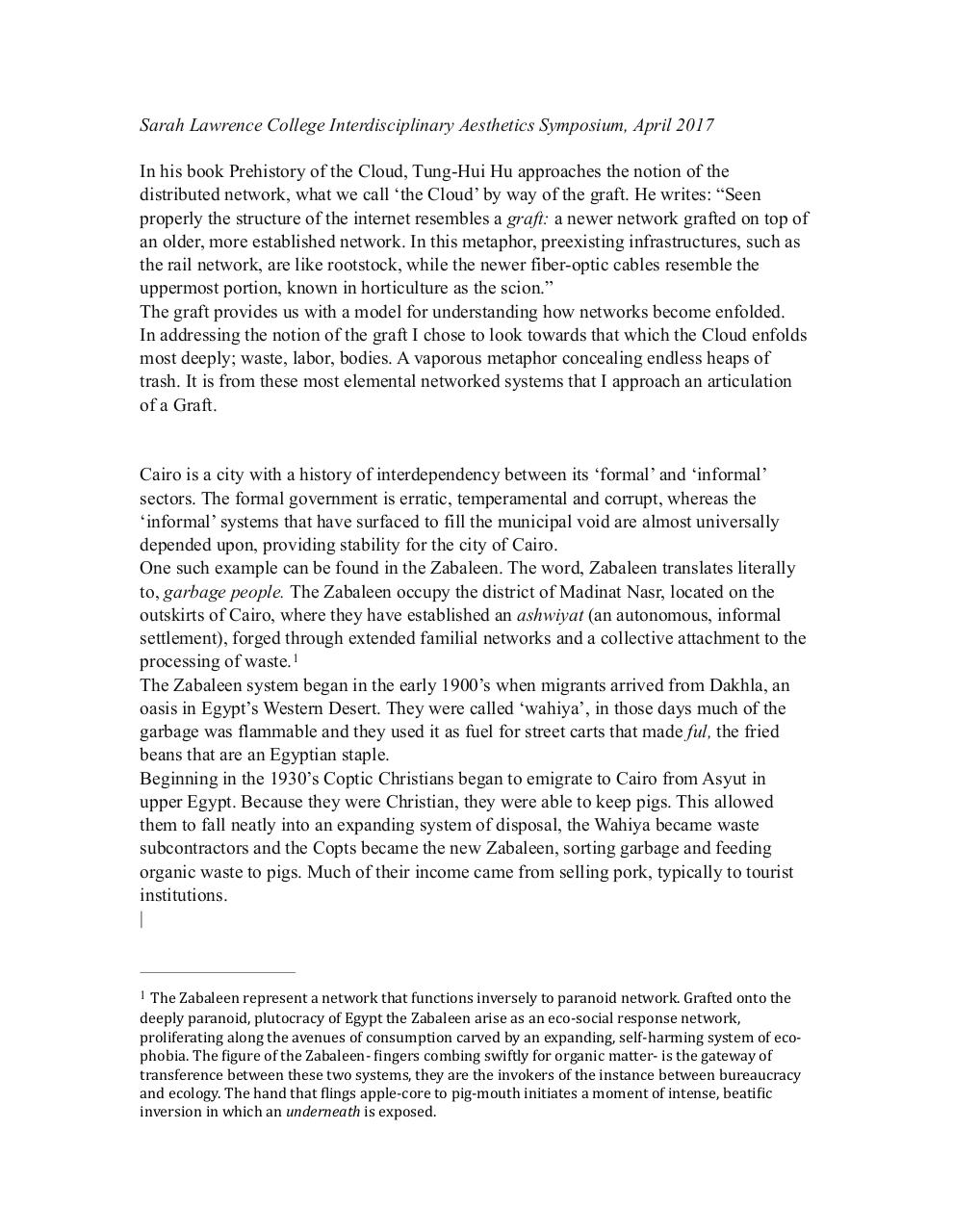 The Network, The Graft and the Zabaleen.pdf - page 1/3