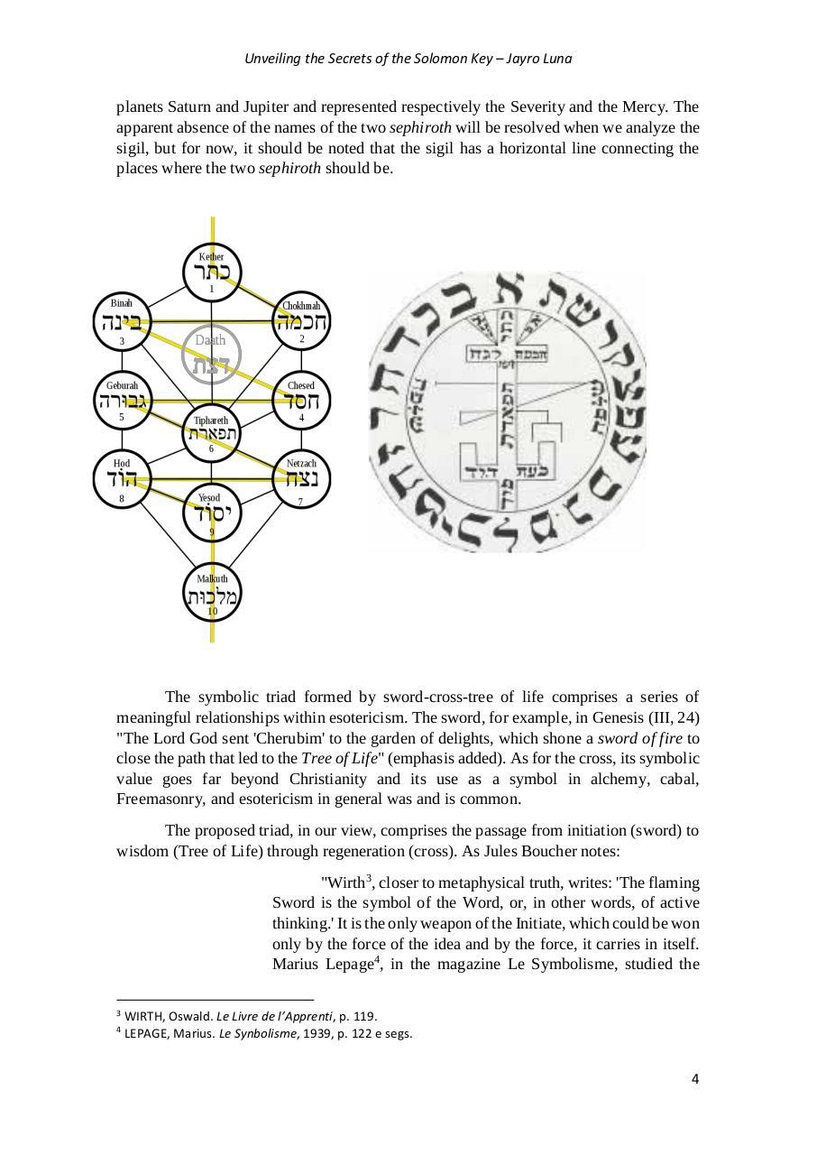 UNDERSTANDING THE SECRETS OF THE SOLOMON KEY by jayrus - PDF