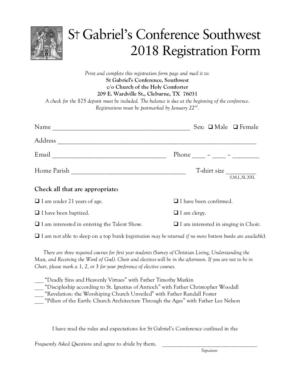Registration - St Gabriels 2018.pdf - page 1/5