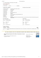 PDF Document track complaint status