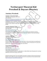 mk preschooldaycaredirectory