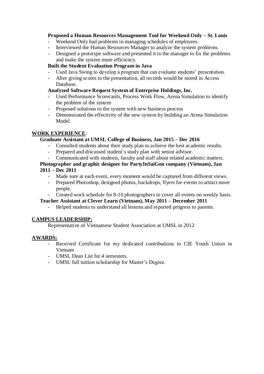 Document preview TuongDinhResume.pdf - page 2/2