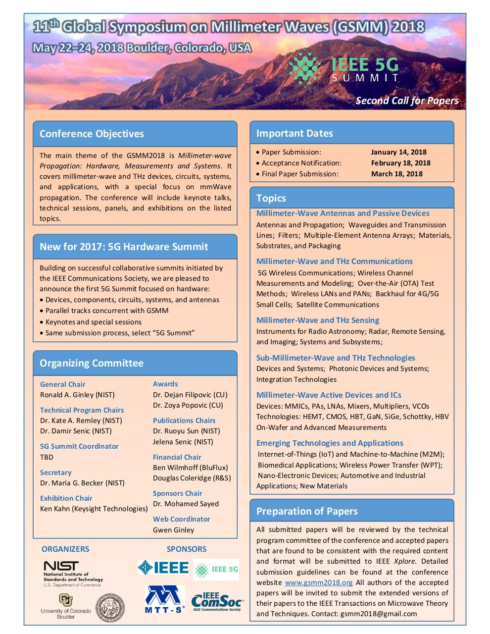 Document preview GSMM2018_Call for Papers (1).pdf - page 1/1