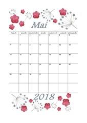 PDF Document 05 calendrier mai 2018 aquarelle a5 portrait recettesbox