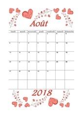 PDF Document 08 calendrier aout 2018 aquarelle a5 portrait recettesbox