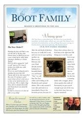 the boot family christmas newsletter 2017
