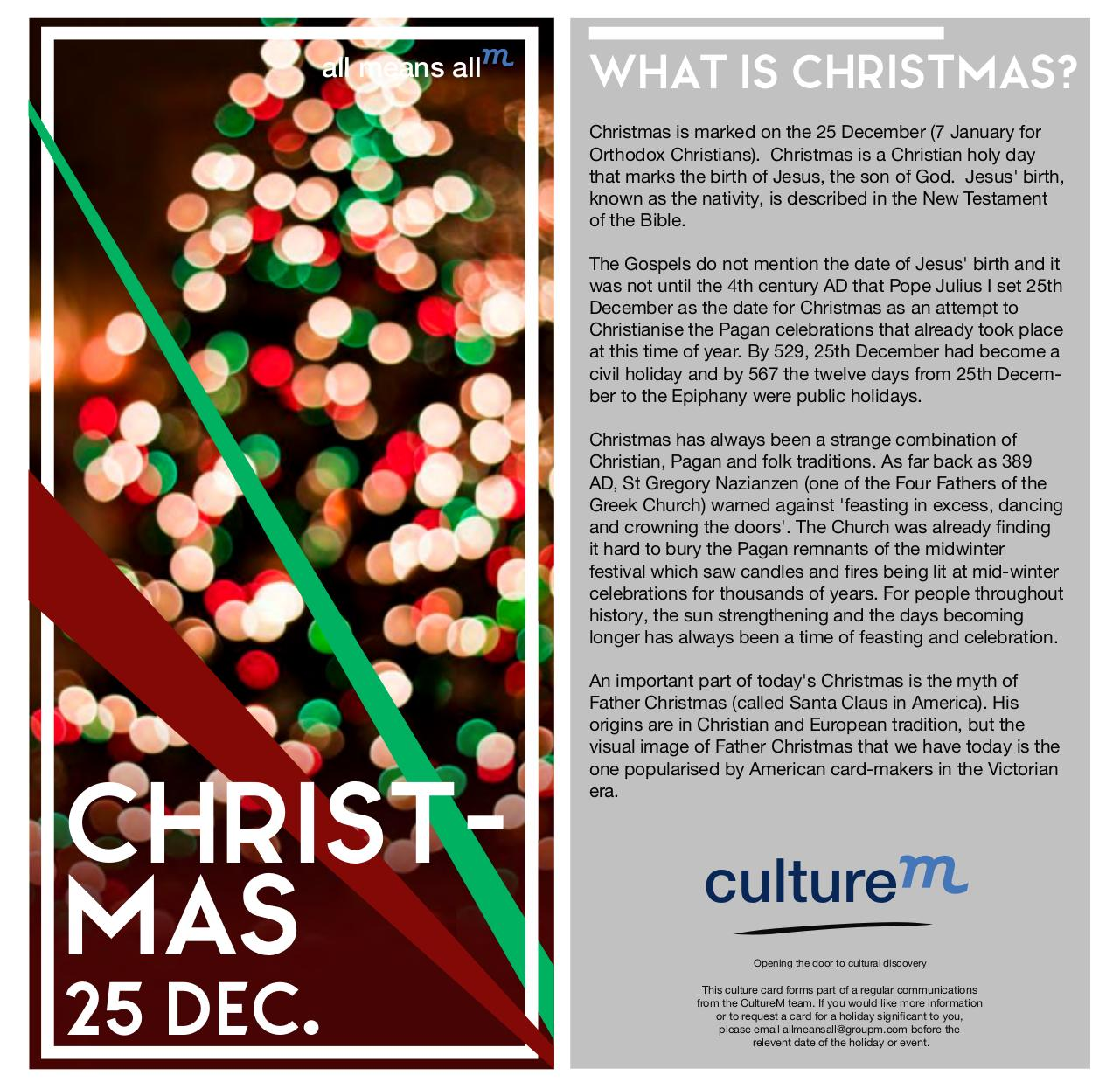 document preview christmaspdf page 11 - What Is The Date Of Christmas