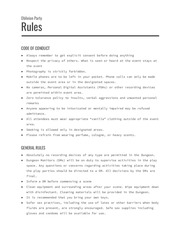 oblivion party rules