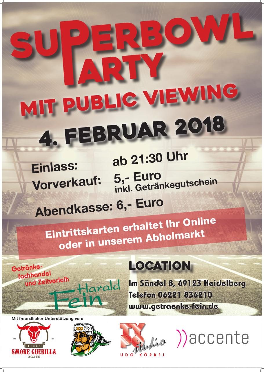 Fein SuperBowl Viewing 2018 Plakat V2 A1 - PDF Archive