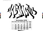kalender2018 11 november