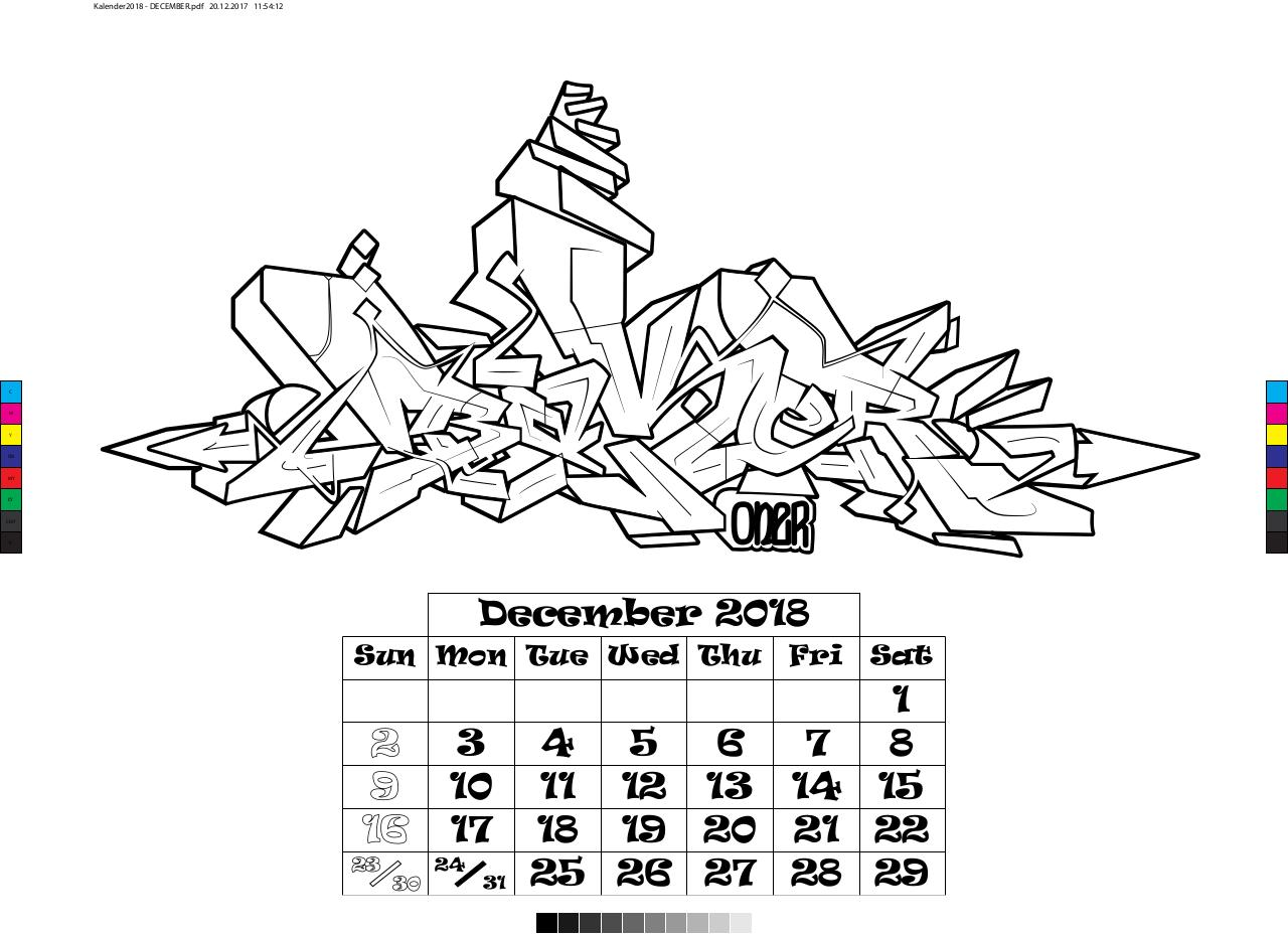 Document preview Kalender2018 - 12 - DECEMBER.pdf - page 1/1