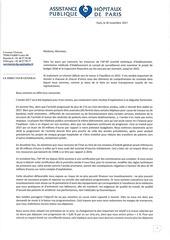 lettre aux personnels 30 11 17