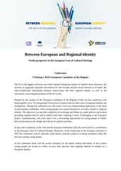 between european and regional identity program