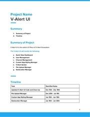 PDF Document v alert ui