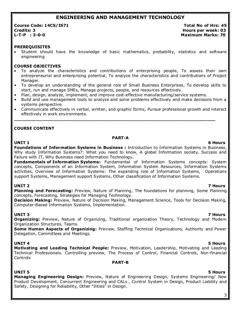 VII Semester Syllabus by Aravind - PDF Archive