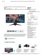 alienware aw3418dw 34 best buy