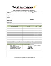 calibration request