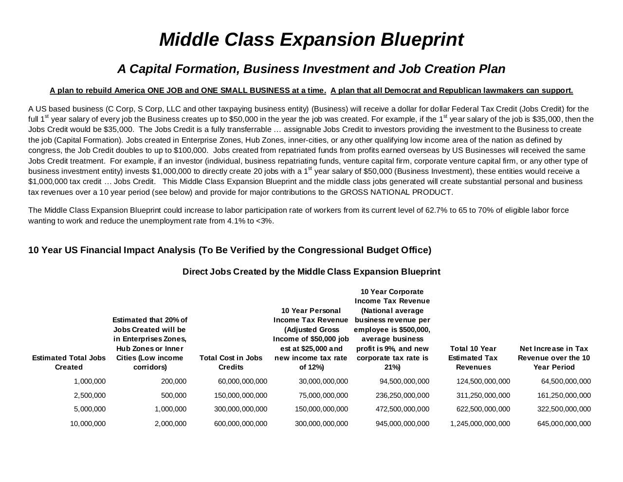 Document preview Middle Class Expansion Blueprint January 1 2018.pdf - page 2/3