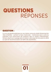 questions et reponses n 1