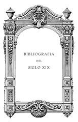 jaime del burgo bibliografia del siglo xix