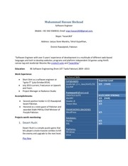 PDF Document m hassan shehzad resume