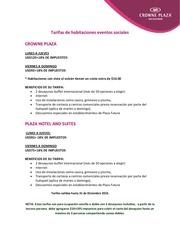 PDF Document tarifas de habitaciones eventos sociales 2016