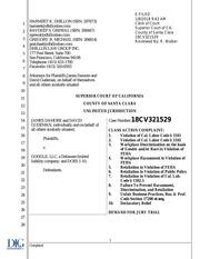 368688363 james damore vs google class action lawsuit