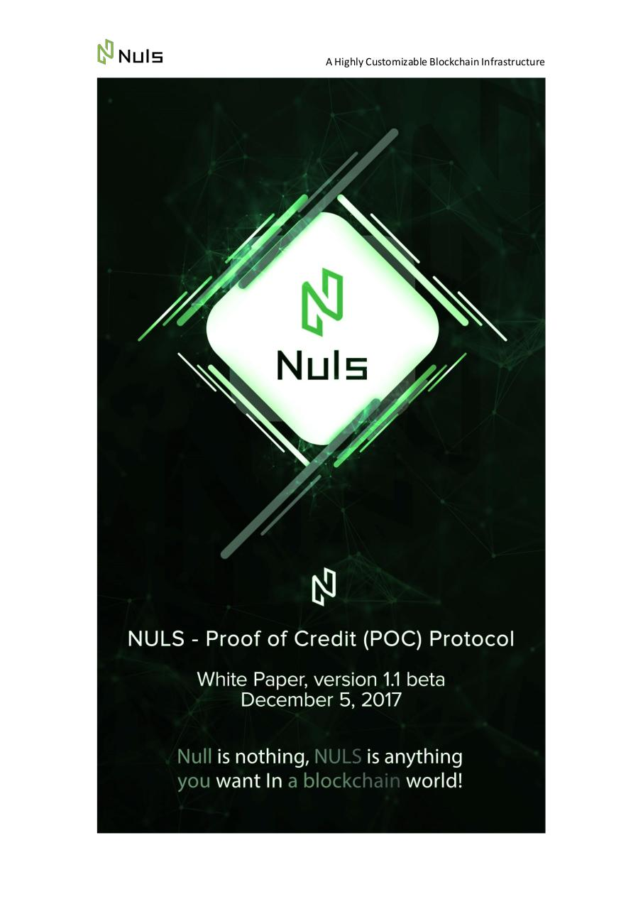 NULS WhitePaper1.1-Germany.pdf - page 1/14