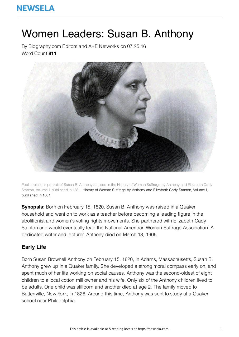 Document preview bio-women-leaders-susan-b-anthony-19516-article_only.pdf - page 1/3