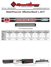 price list sd retail mar2017